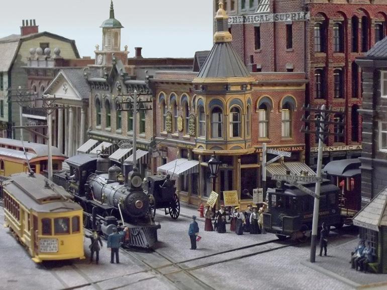 Arkham Model Railroad